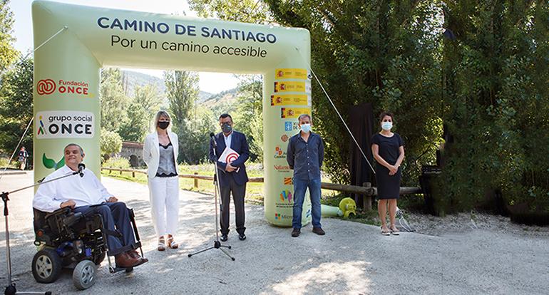 Turismo de Navarra y Fundación ONCE presentan el Camino de Santiago Francés Accesible en tierras navarras