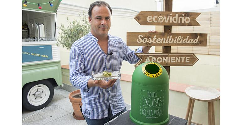 campaña reciclaje hostelería con Ángel León
