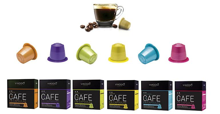 Cápsulas café viaggio espresso