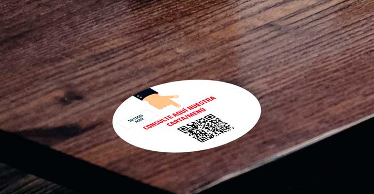 Tecnología QR para crear cartas y menús digitales