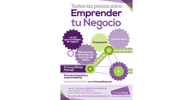 Cartel de la jornada de FranquiShop Murcia