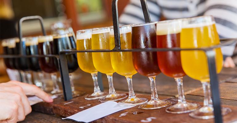Cata de diferentes cervezas