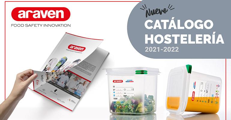 Araven presenta casi 700 productos para hostelería en su nuevo catálogo en número de productos para horeca