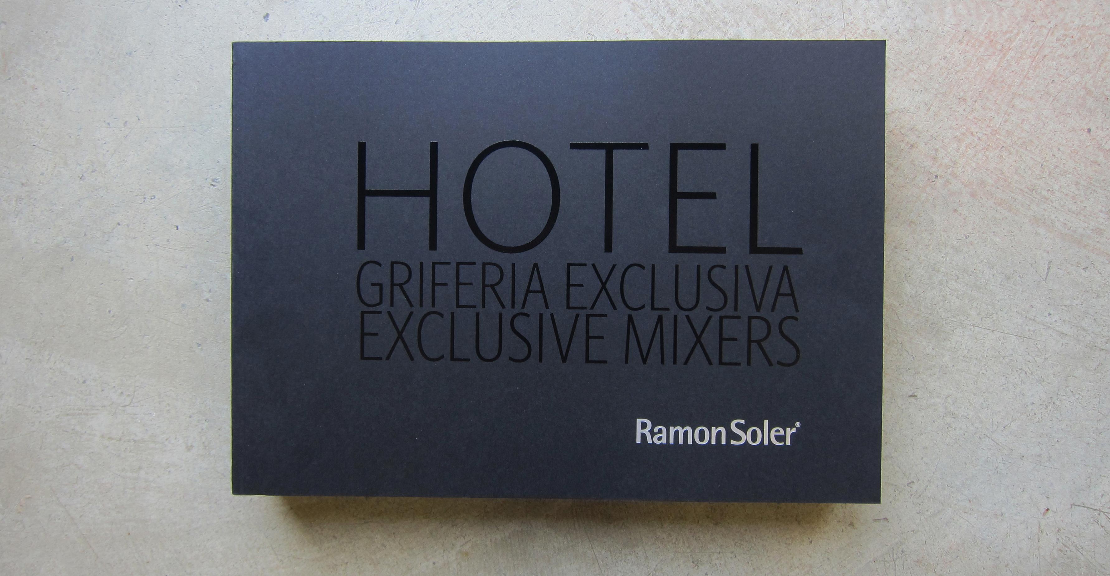 catálogo griferia hoteles ramon soler