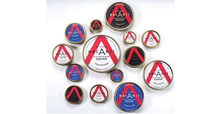 Caviar nacarii latas