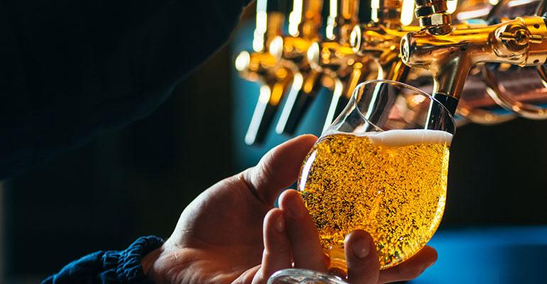 Cerveza en hostelería
