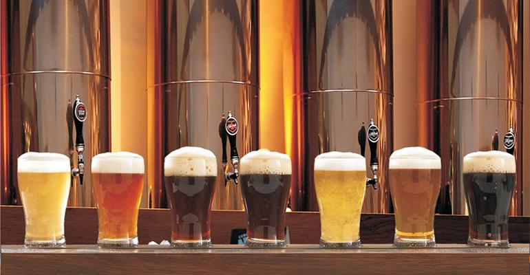 Cervezas de distintos tipos
