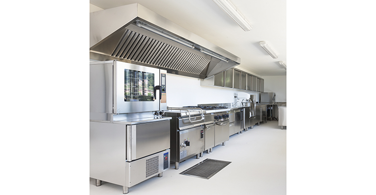 superficies de cocina limpias