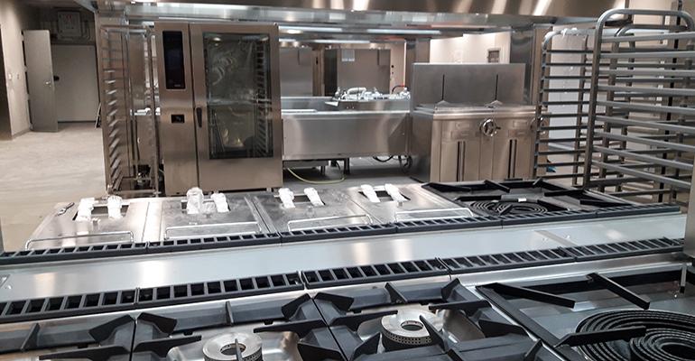 Cocina wanda metropolitano fagor industrial