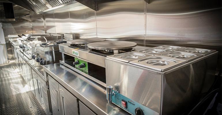 Cocina del food truck