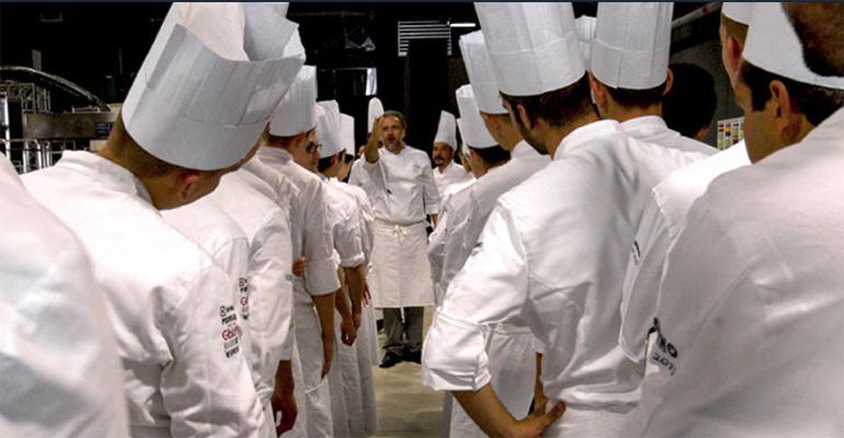 cocineros jóvenes