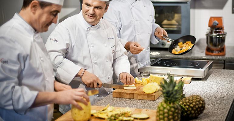 cocineros de Davigel