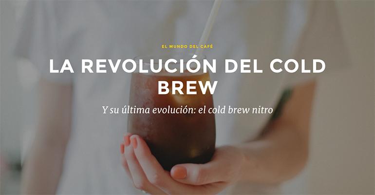en qué consiste el cold brew y el cold brew nitro