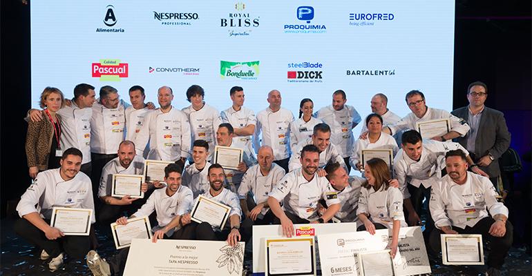 Primera semifinal del Concurso Camarero del Año 2018