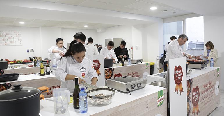 Anterior edición del concurso Mejores Arroces de Unilever Food Solutions
