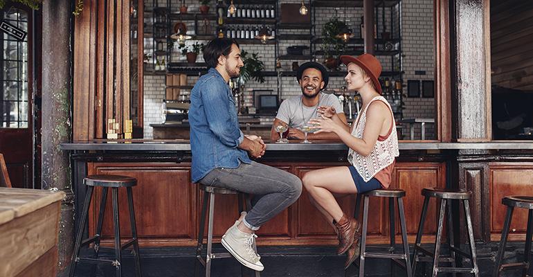 consumo bebidas bares