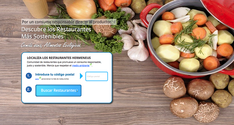 Consumo sostenible restaurantes