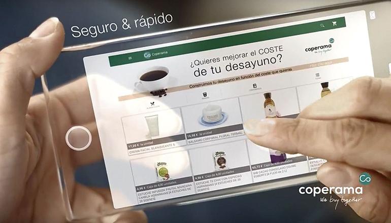app coperama gestión de compras