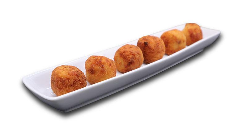 Croquetas caseras gourmet en 6 sabores