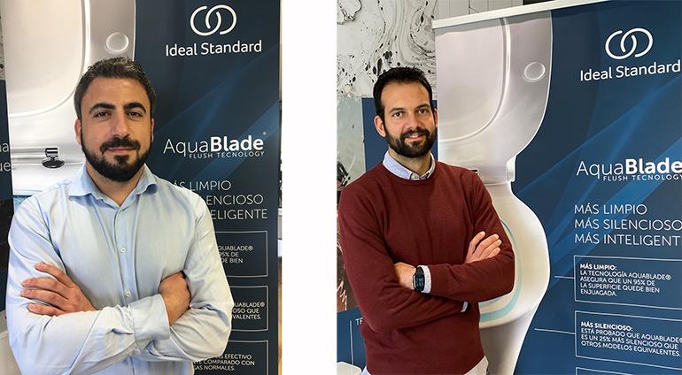 Ideal Standard nombra a Jordi Puig y Carlos Bañuls nuevos Responsables del Departamento de Prescripción y Contract para Iberia
