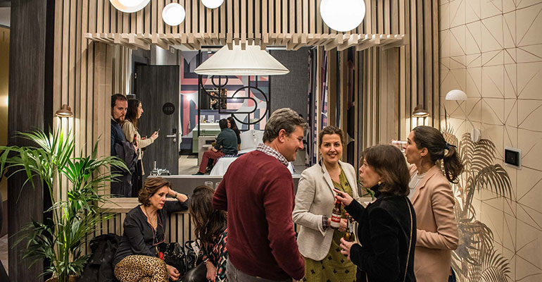 Inauguración showroom cenfim en madrid