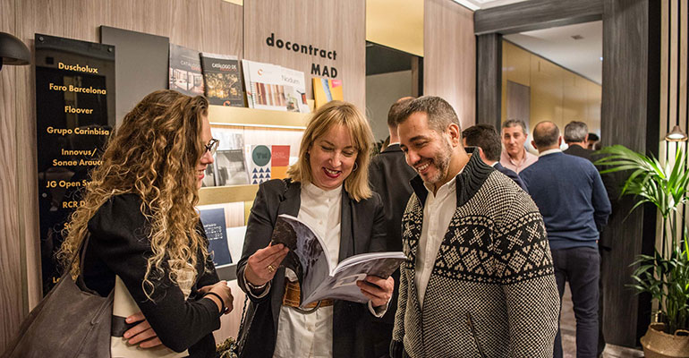 El showroom docontract MAD abre en la capital