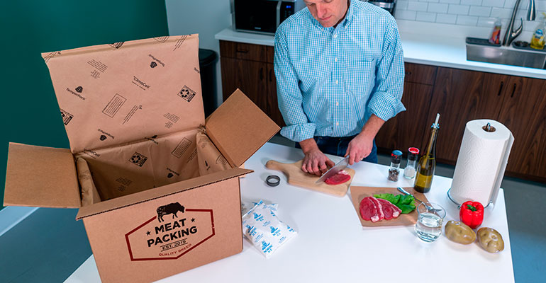 DSSmith meat packaging