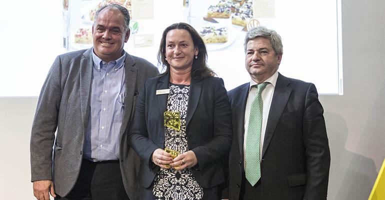Responsables de Erlenbacher reciben el Premio Innoval 2018 en el marco de Alimentaria