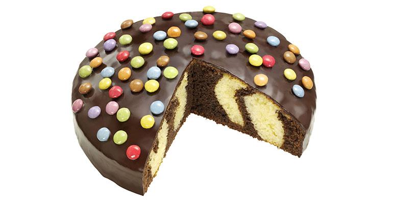 SMARTIES® PARTY CAKE de erlenbacher