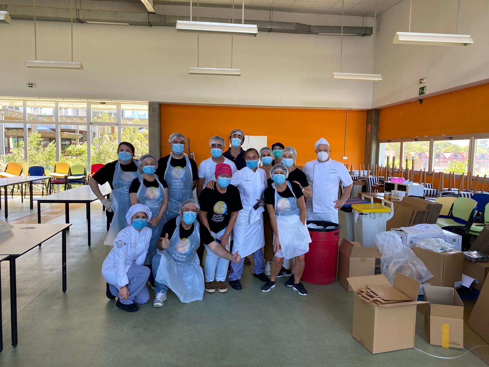Voluntarios escuela hostelería leioa