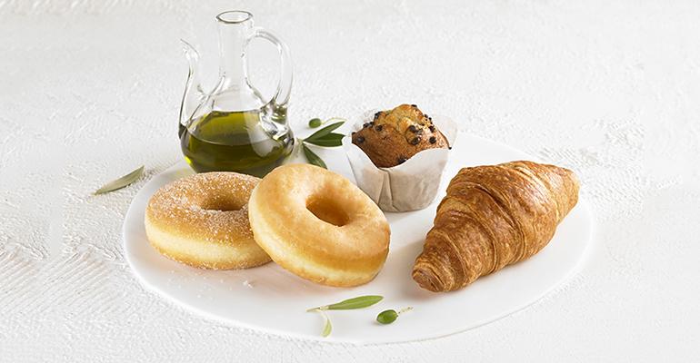 Olive, nueva gama de bollería elaborada con aceite de oliva