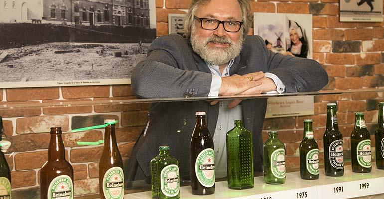 El maestro cervecero de la cerveza Heineken