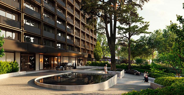 Fachada Hotel Rosewood Villa Magna Madrid