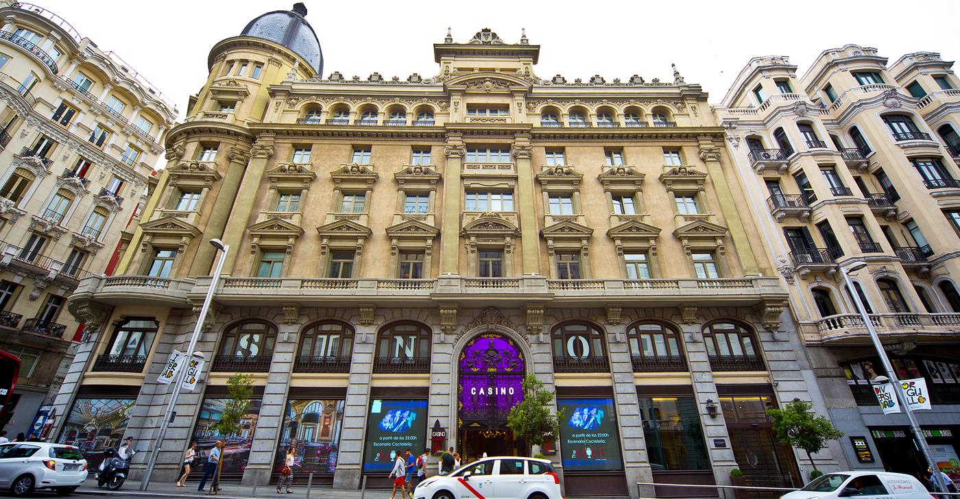Fachada del Hotel Círculo Gran Vía de Madrid