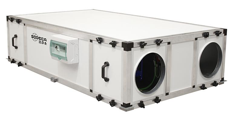 Sodeca recuperadores de calor eficientes