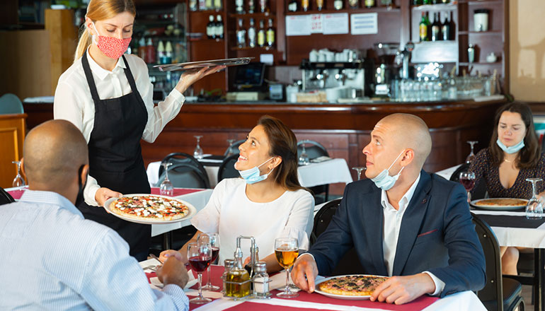 Restaurantes post pandemia