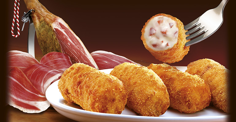 Findus croquetas de jamón