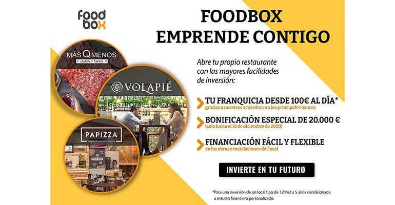 Foodbox facilita la apertura de restaurantes franquiciados