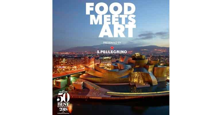 Evento Food meets art en Bilbao