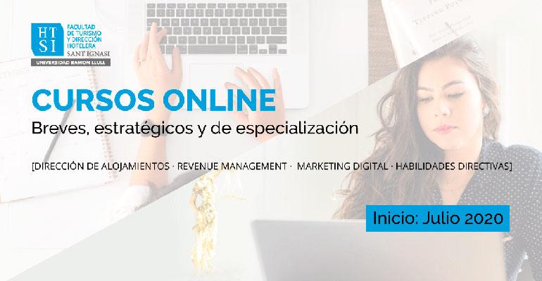 La Facultad de Turismo y Dirección Hotelera Sant Ignasi inicia sus cursos de especialización online