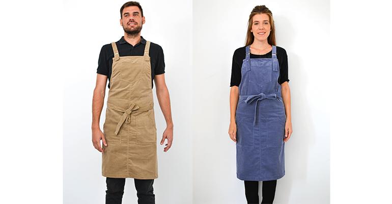 Delantales a la moda para hostelería