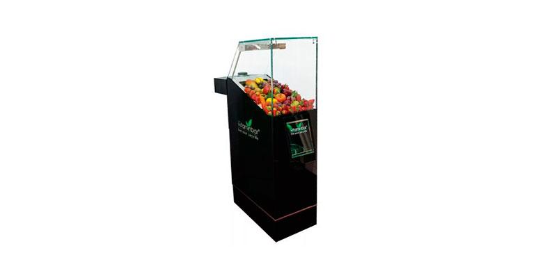Máquina de zumos de verdura y fruta al instante