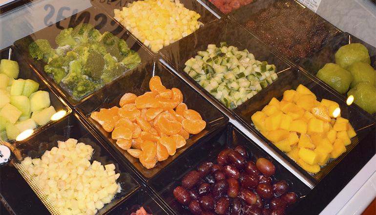 Expositor de frutas y verduras Sensso
