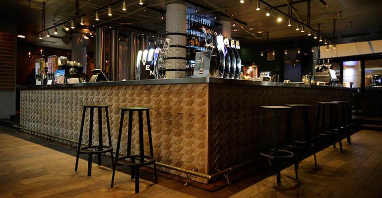Gabarró barra de bar