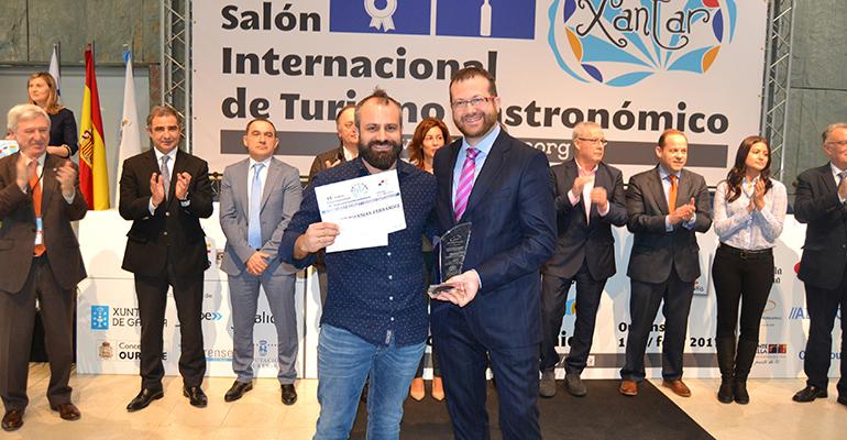 Ganador del concurso de cocina de Xantar 2017