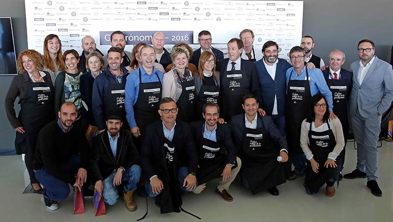 Participantes en gastronoma 2016