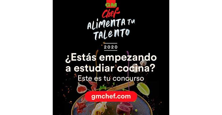 GMchef retransmite online la final del concurso Alimenta tu talento 2020