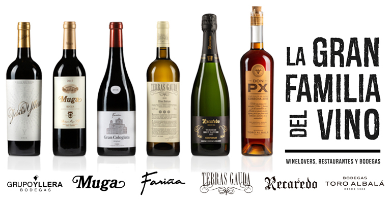 La Gran Familia del Vino: seis bodegas lanzan una campaña para impulsar el consumo en hostelería