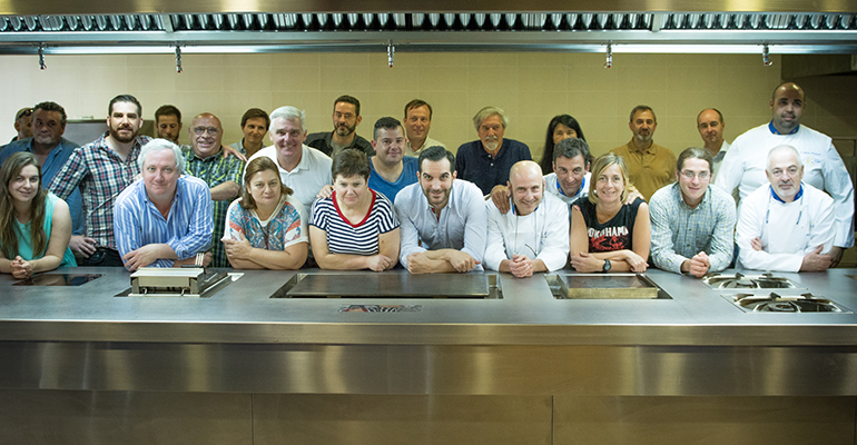 Grupo Asamblea Euro toques Madrid con Mario Sandoval