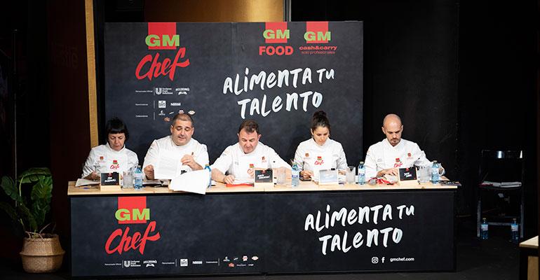 jurado del concurso GM Chef